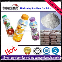 Food Additives Compound Thickener Stabilizer For Fruit Juice Soft Drink