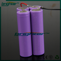 7.4v 18650 li-ion battery pack lithium batteries for electric scooter
