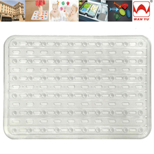 Europe Standards Inodorous PVC Bathroom Baby Safety or Commercial Shower Mat
