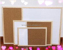 Lb-0311 wooden frame combinational whiteboard with high quality