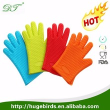 5 Fingers Oven Mitts Pot Holders with Heat Resistance