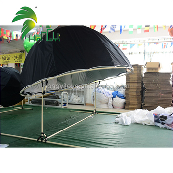 Custom Made Double Layer Pop Up Tent / Projection Dome Tent from Guangzhou Hongyi