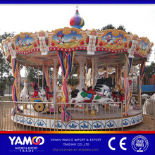 24 seats carousel, used merry go rounds for sale
