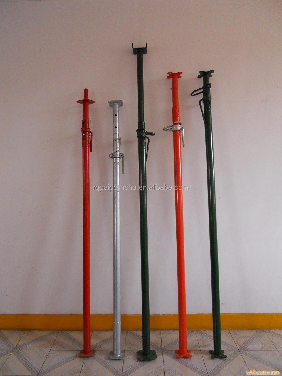 Expandable Walk Boards : Scaffolding shoring post props jack and pull push