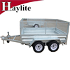 7x4 ft Strong Box Utility Trailer for Australia and New Zealand