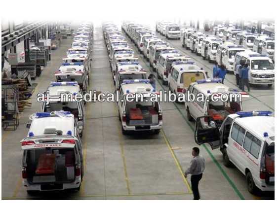 high-performance Intensive Transport LHD Used Emergency Ambulance medical equipment Vehicle for export SY6480AD-ME(Q)