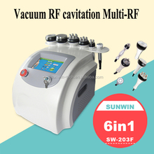 2015 Sunwin Most Powerful fat reduce cavitation slimming machine SW-203F