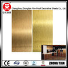 silver foil hpl decorative high pressure laminate/metallic hpl