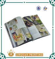 High quality China offset factory fashion glossy magazine printing