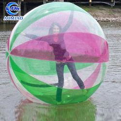 High quality cheap TPU/PVC water walking ball inflatable running water bubble roller ball for kids/adult