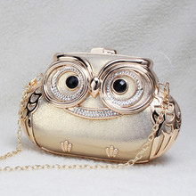 wholesale new arrival owl shape clutch bags evening party ladies bags Guangzhou
