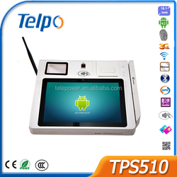 Telepower TPS510 Payment POS Equipment Android EFT POS Terminal Android Tablet POS Printer