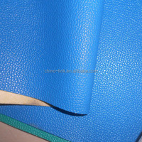 Lichee pattern bulk price pvc synthetic leather upholstery