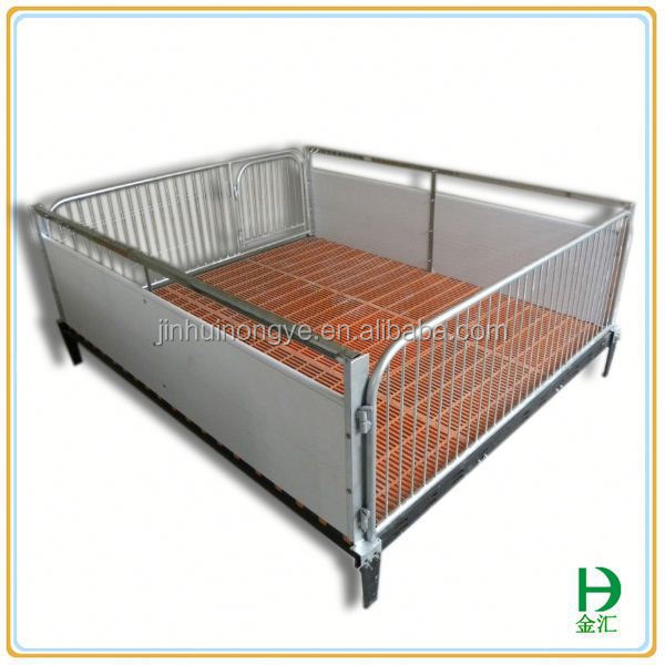 animal cage system hot dipped galvanized piglets nursery pig pen