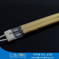 Twin tube short wave 110-130v halogen lamp