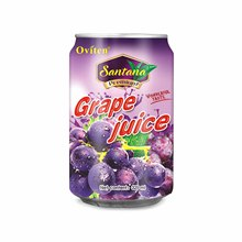 325ml High quality organic health grape fruit juice drink