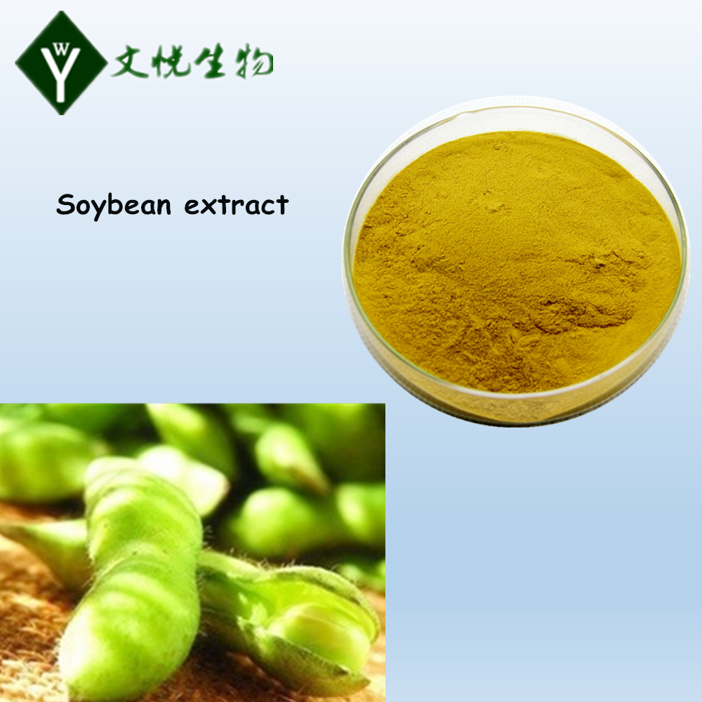 100% natural organic Soy Isoflavone Soybean Extract