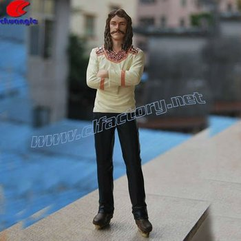 High Quality Polyresin Realistic Action Figure for Collection