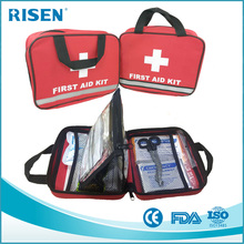 manufacture travel sport first aid medical bag kit/first aid pouch for travel