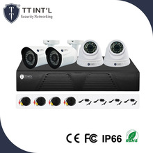 High Quality Cheap CCTV Camera 4ch HD IR 1080P DVR Safety Kit