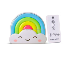 Rainbow Baby Night Light With Remote(5-10m), 5 Bright Degree, Timing 5/10/30min (Remote)