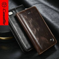 2016 Manufacturer Wholesale Luxury Retro Vintage Book Style With Card Slots Flip Wallet Leather Case for Iphone 5 SE