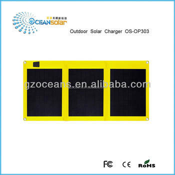 Wholesale 30W18V Portable Folding Solar Panel with superior quality and reasonable price