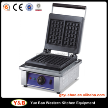 Electric Stainless Steel Egg Commercial Waffle Machine CE Waffle Maker