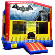 kids favourate hero batman bouncy inflatable jumper house
