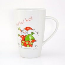 Santa claus china christmas musical pack 6 ceramic mug set with gift box