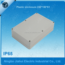 IP65 plastic waterproof electrical enclosure 230x150x61, outdoor waterproof wall mounted plastic box, IP65 waterpoof panel box