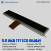 9.1inch 1024*105 custom made color tft lcd well selling