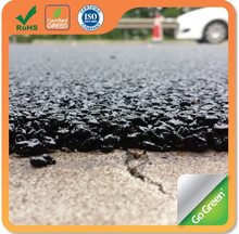 Go Green road wearing course repair using cold asphalt micro paving overlay
