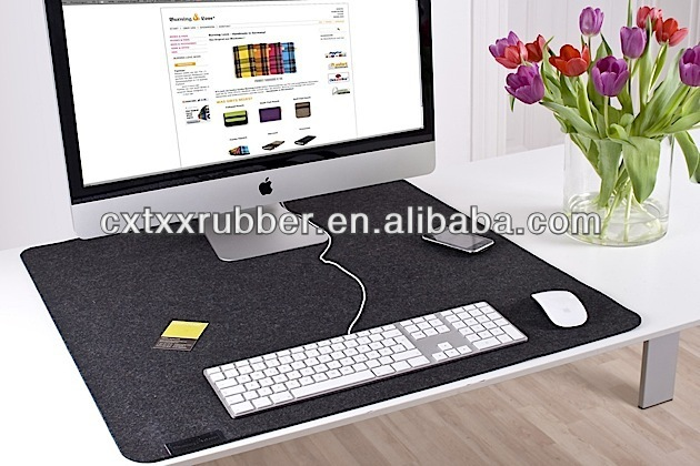 large computer desk pad,felt office computer counter mats - buy