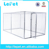 Custom logo high quality galvanized tube steel puppy cage dog fence
