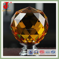 brass base colored glass door knob