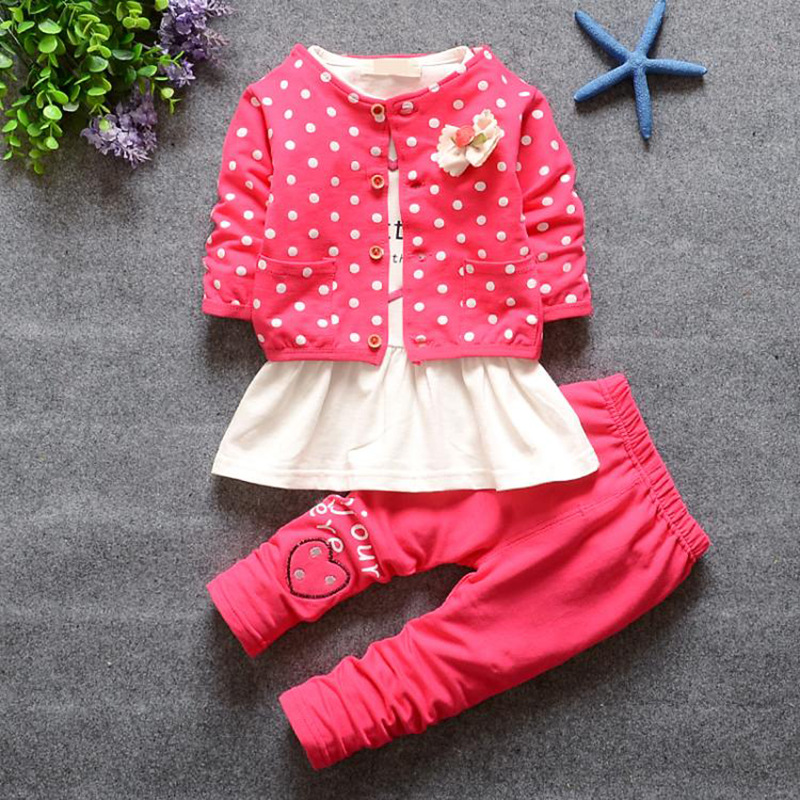 ZH1922C Children Girls and boys spring autumn Boutique Clothing Sets Kids long shirt+Pants Sets Baby Girls