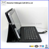 For iPad Leather Case With Bluetooth Keypad/For iPad Keyboard Leather Case