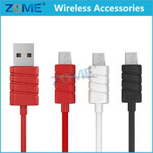 New Coming Product Generic Stripe plug Micro USB V8 Round Cord Data Cable Charger for Galaxy S5 S4 S3 S2 Note II