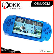 Hot Selling MP5 game player 4.3 inch 8GB support TF card Video Music Picture not for psp console amusement game console portable