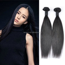 Best Selling Thin Weft Hair Extension Passion Hair Brazilian Unprocessed 10A Natural Black Soft Virgin Straight Hair