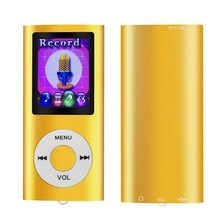 Factory outlet 32GB LCD screen sport player slim metal case portable cheap mp4 player with Multi-language and voice recorder