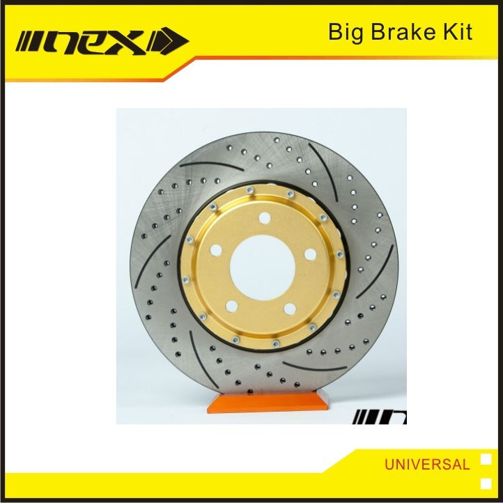 Unique 4 Pod and 6 Pod Racing Brake Rotor