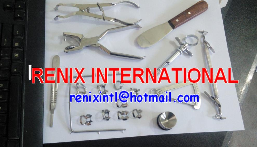 Rubber Dam Frame Endodontic Root Dental Instruments By Renix
