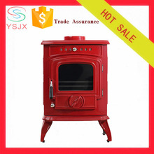 Most popular red ceramic wood burning fireplace price