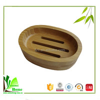 Light Travel Bamboo Soap Dish