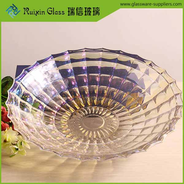 Practicability oem quality glass fruit bowls plate,unique bowls plate for office