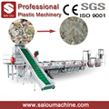 PP PE film crushing washing and drying recycling machine