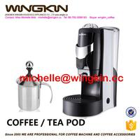 Home use Multi- functional Coffee Maker for pod, coffee powder and capsule