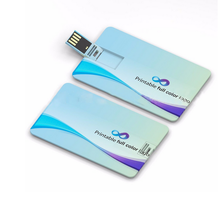 Gift Credit Card USB drive, present free printing credit card usb removable disk,bank card usb flash drive